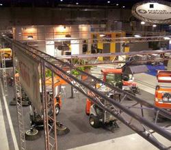 Trussysteem voor verlichting Waregem | Expo Service